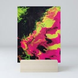 Vivid Strata Mini Art Print