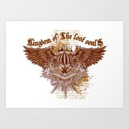 Kingdom of lost souls Art Print