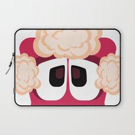 Bubble Beasts: Shocking Strawberry Fur Softener Laptop Sleeve