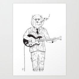 Smokey Bear Art Print