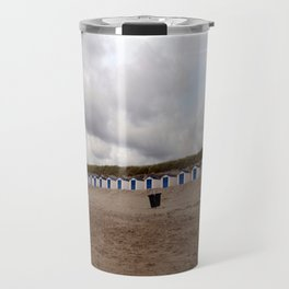 on the beach (Texel) Travel Mug