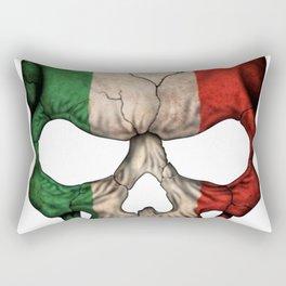 Exclusive Italy skull design Rectangular Pillow