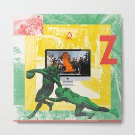 Brazzaville 2 Metal Print