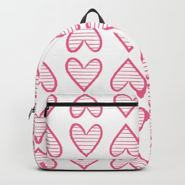 Valentines heats Backpack
