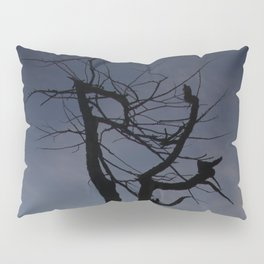 Shadow tree at dawn - Khövsgöl Mongolia Pillow Sham