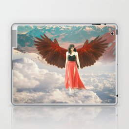 Lady of the Clouds Laptop & iPad Skin