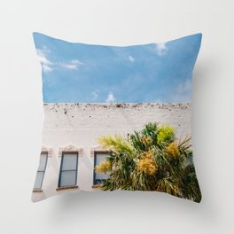 Charleston Palm Tree VIII Throw Pillow