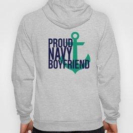 Proud Navy Boyfriend Hoody