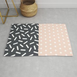 Random Geo - Dots and Dashes Rug