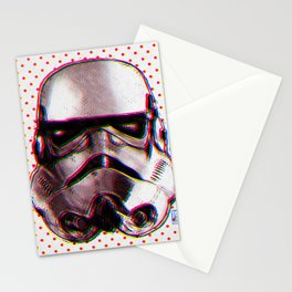 CMYK Stormtrooper by Javi Codina Stationery Cards