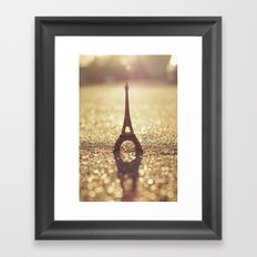 Paris, City of Light Framed Art Print
