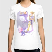 90s T-shirts featuring 90s Sailormoon by Collectif PinUp!
