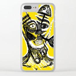 Schizophrenia Clear iPhone Case