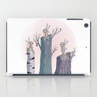 pixies iPad Cases featuring Pixies by Martina Naldi