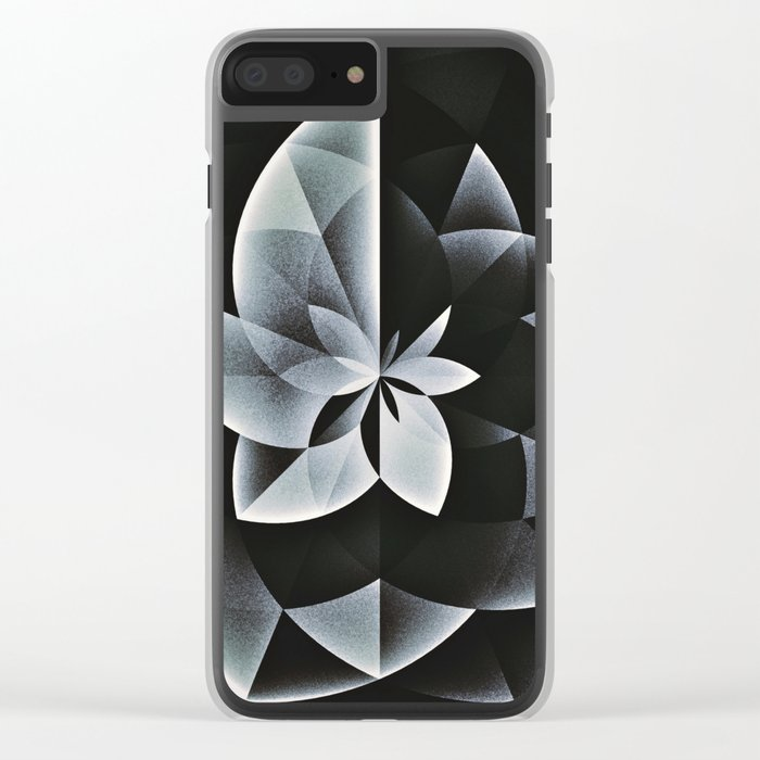 noyrflwwr Clear iPhone Case