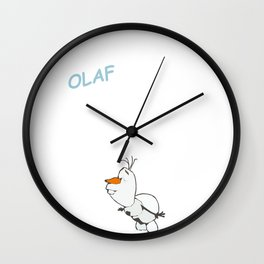 Olaf the Snowman (Frozen) Wall Clock
