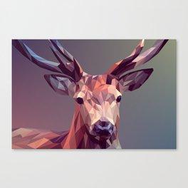 Deer geometric new Canvas Print