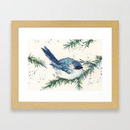 Cozy December Framed Art Print