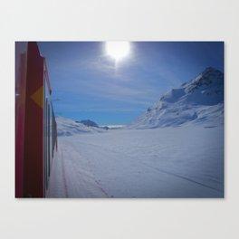 Swiss Alps. Canvas Print
