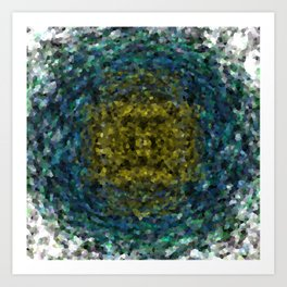Geode Abstract 01 Art Print