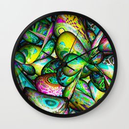 Psychedelic World Wall Clock