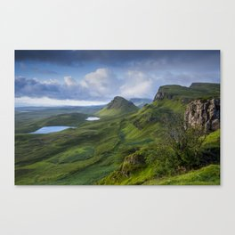 Up in the Clouds II Canvas Print