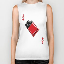 Delicious Deck: The Ace of Diamonds Biker Tank