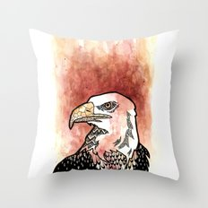 Bold Bird Throw Pillow