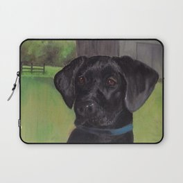 Black Lab Laptop Sleeve