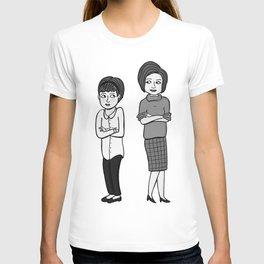 Doctor Who companions: Susan and Barbara (no text) T-shirt