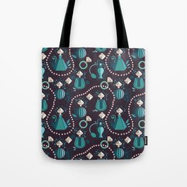 Diamonds and pearls Tote Bag