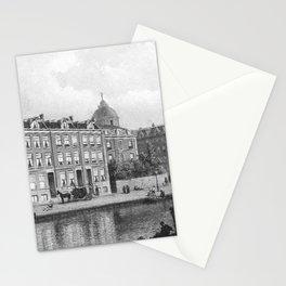 Eduard Alexander Hilverdink - Gezicht van de Stadhouderskade op de Nic Witsenkade hoek Westeinde met Stationery Cards