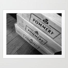 Pommery Art Print