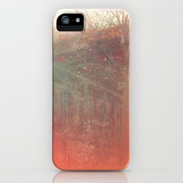 Hollowed Relic iPhone Case