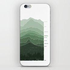 Above Sea Level iPhone & iPod Skin