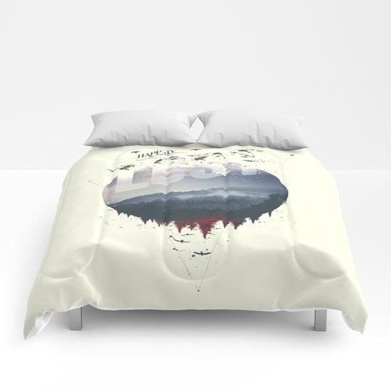 Happily lost Comforters