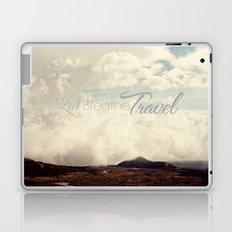Live Breathe Travel - Mt Etna, Italy Laptop & iPad Skin