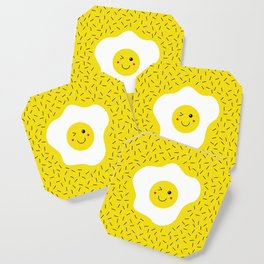 Eggs emoji Coaster