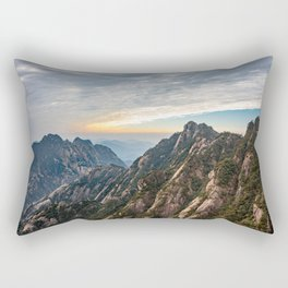 The Yellow Mountains, Anhui, China Rectangular Pillow