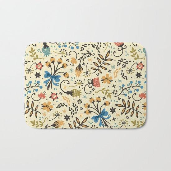 Floral Bloom Bath Mat