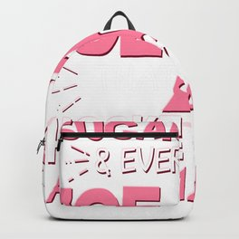 Sugar Spice Everything That's What Hockey Girls Are Made Of Backpack