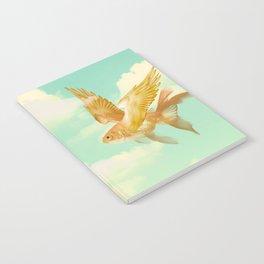 Flying Goldfish Notebook