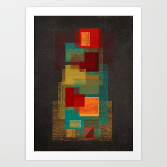 vacancy structure Art Print