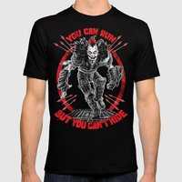 MAD MAX: WEZ THE ROAD WARRIOR MEDIUM Black Mens Fitted Tee