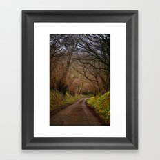 country way Framed Art Print