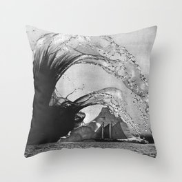 Beware the Hydra Throw Pillow