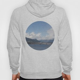 Vancouver Harbour north shore mist Hoody