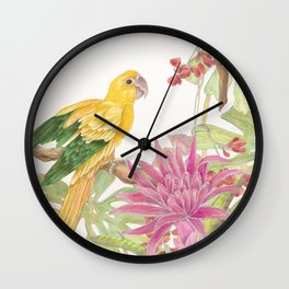 My Favorite Perch Wall Clock