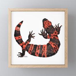 Gila Monster Framed Mini Art Print