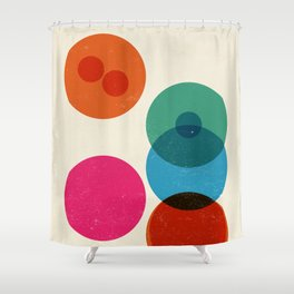 Division II Shower Curtain